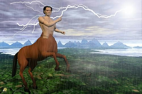 Centaur with Lightening